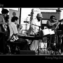 Jeremy Ledbetter and CaneFire - Pickering Jazz Festival